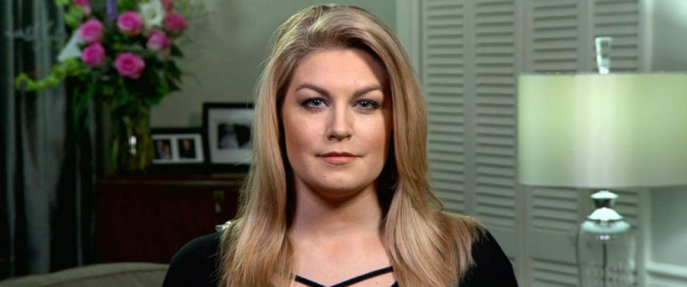 "PHOTO: Former Miss America Mallory Hagan speaks to ""Good Morning America,"" Dec. 26, 2017, about the email scandal."