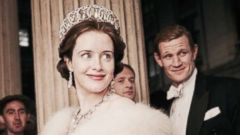 "PHOTO: Matt Smith and Claire Foy in ""The Crown,"" 2016."