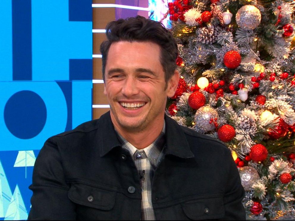 PHOTO: James Franco joins GMA to discuss his latest film Disaster Artist.