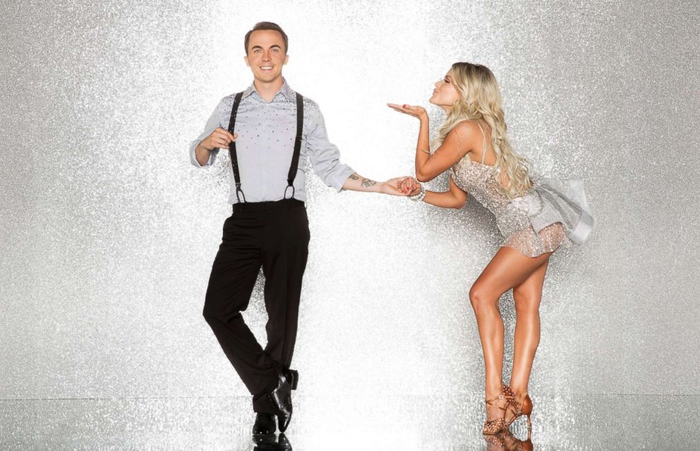 PHOTO: Frankie Muniz and pro dancer Witney Carson will compete for the mirror ball title on the new season Dancing With The Stars.