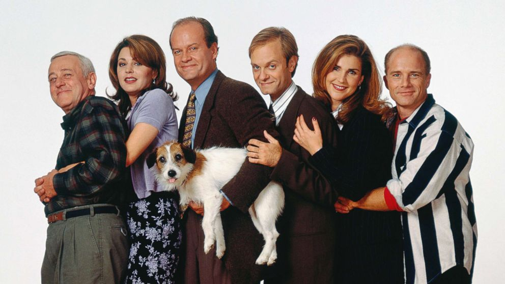 Image result for cast of frasier