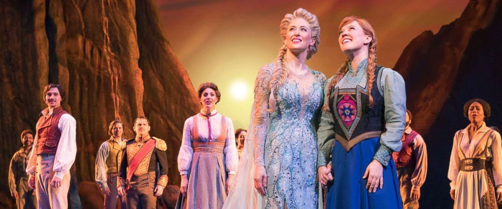 """PHOTO: Actors perform during """"Frozen: The Broadway Musical."""""""