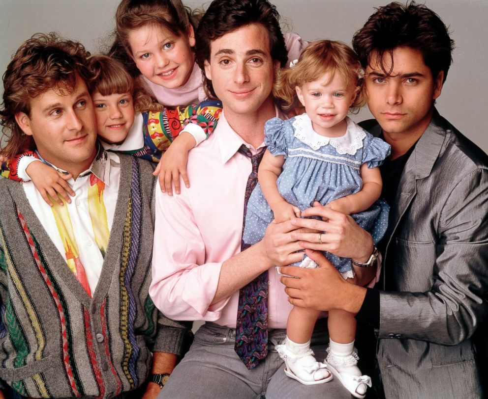 PHOTO: The cast of Full House is pictured in a promotional image from 1988.
