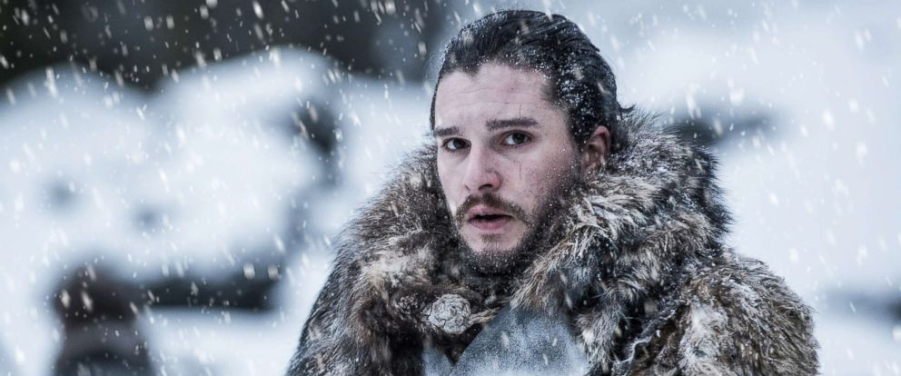 """PHOTO: Kit Harington appears in a scene from HBOs, """"Game of Thrones,"""" 2017."""