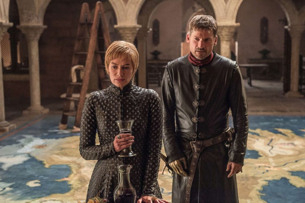 PHOTO: Lena Headey and Nikolaj Coster-Waldau appear in HBOs, Game of Thrones, 2017.