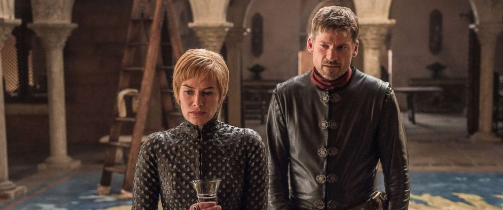 "PHOTO: Lena Headey and Nikolaj Coster-Waldau appear in HBOs, ""Game of Thrones,"" 2017."