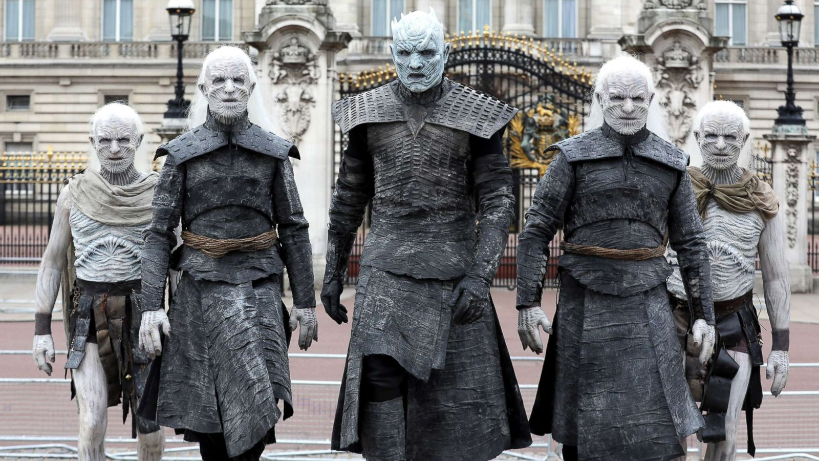 Game Of Thrones White Walkers Take Over London In Advance Of
