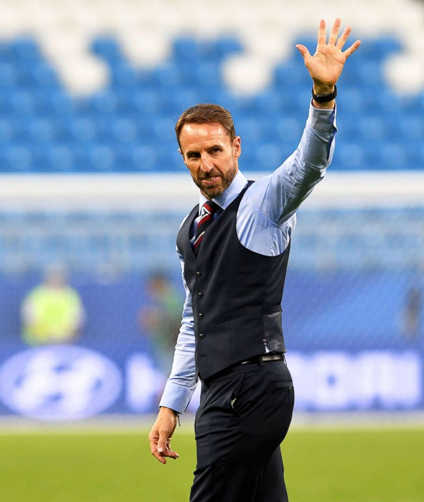 Gareth Southgate gave England staff handwritten notes before World Cup