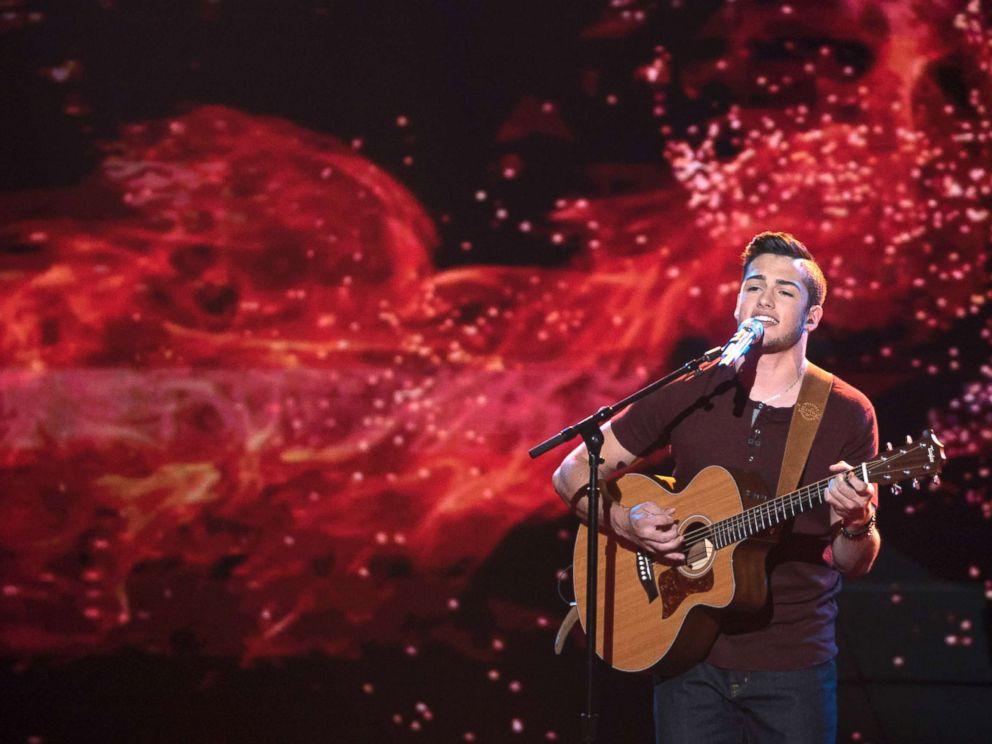 PHOTO: Garrett Jacobs appears on American Idol, April 22, 2018.