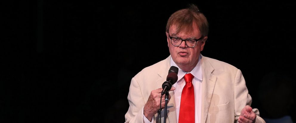 PHOTO: Garrison Keillor appears at the Greek Theatre in this June 7, 2013 file photo in Los Angeles.