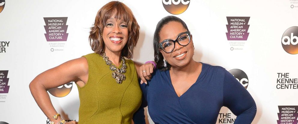 """PHOTO: Gayle King and Oprah Winfrey attend """"Taking the Stage - African American Music and Stories that Changed America,"""" Sept, 23, 2016 at the Kennedy Center in Washington D.C."""