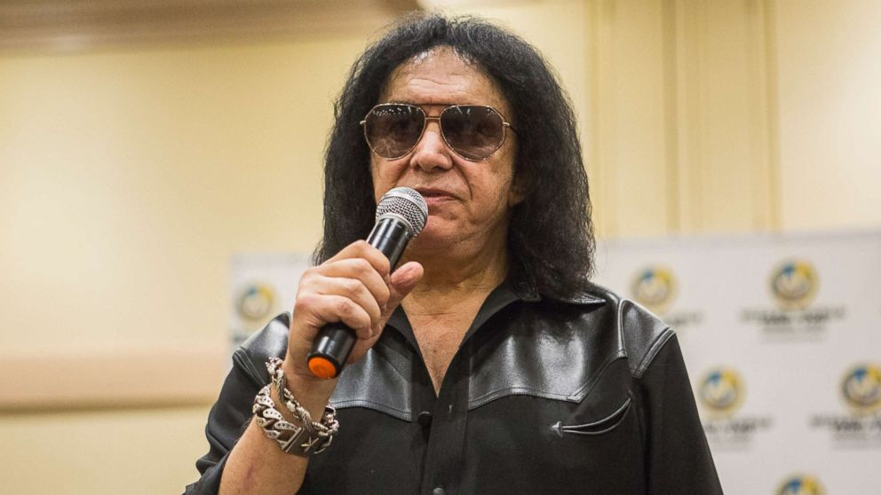 Musician Gene Simmons during the Wizard World Chicago Comic-Con at Donald E. Stephens Convention Center, Aug. 26, 2017 in Rosemont, Ill.