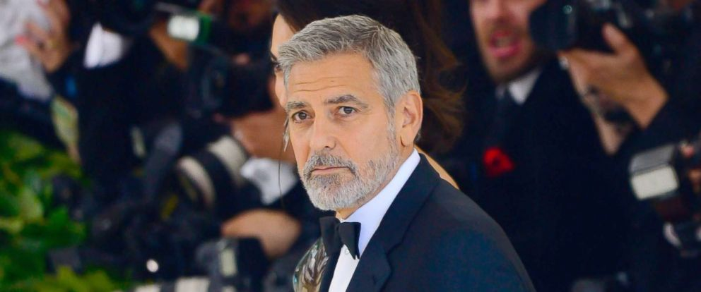 PHOTO: George Clooney attend the Heavenly Bodies: Fashion & The Catholic Imagination Costume Institute Gala at The Metropolitan Museum of Artat, May 7, 2018 in New York City.