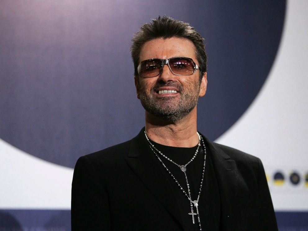 PHOTO: Singer George Michael poses at the George Michael: A Different Story photocall during the 55th annual Berlinale International Film Festival, Feb. 16, 200,5 in Berlin.
