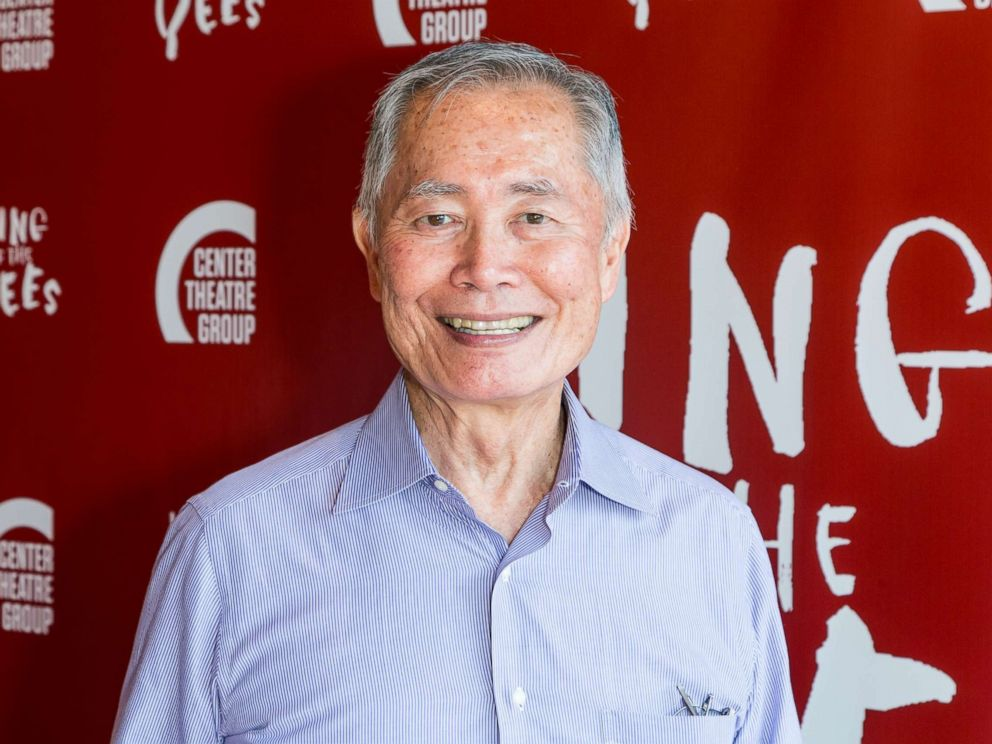 PHOTO: George Takei attends the opening night of King Of The Yees at the Kirk Douglas Theater, July 16, 2017 in Culver City, Calif.