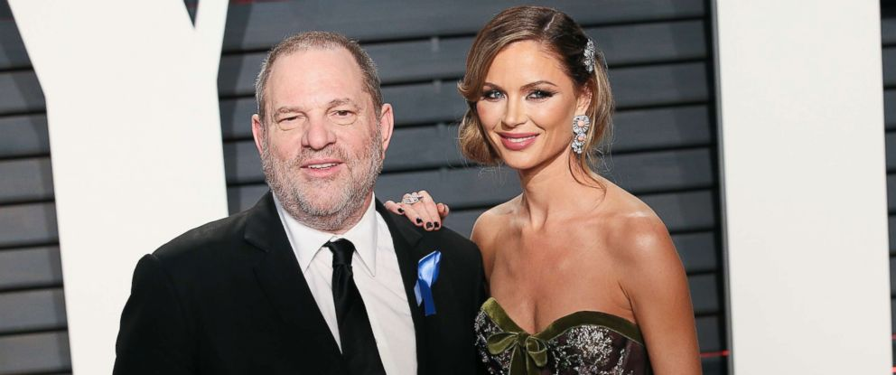 PHOTO: Harvey Weinstein and Georgina Chapman attend the 2017 Vanity Fair Oscar Party hosted by Graydon Carter at the Wallis Annenberg Center for the Performing Arts, Feb. 26, 2017 in Beverly Hills, Calif.