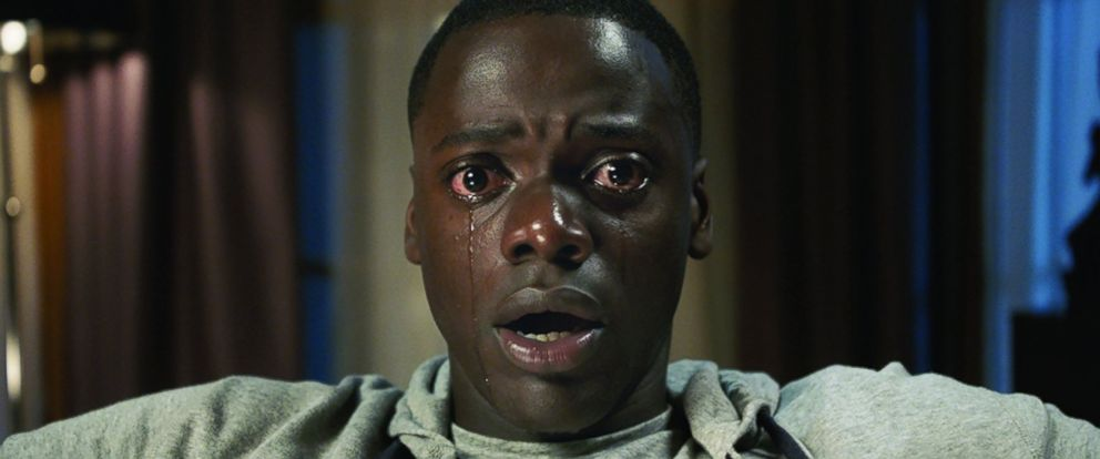 "PHOTO: Daniel Kaluuya in a scene from ""Get Out."""