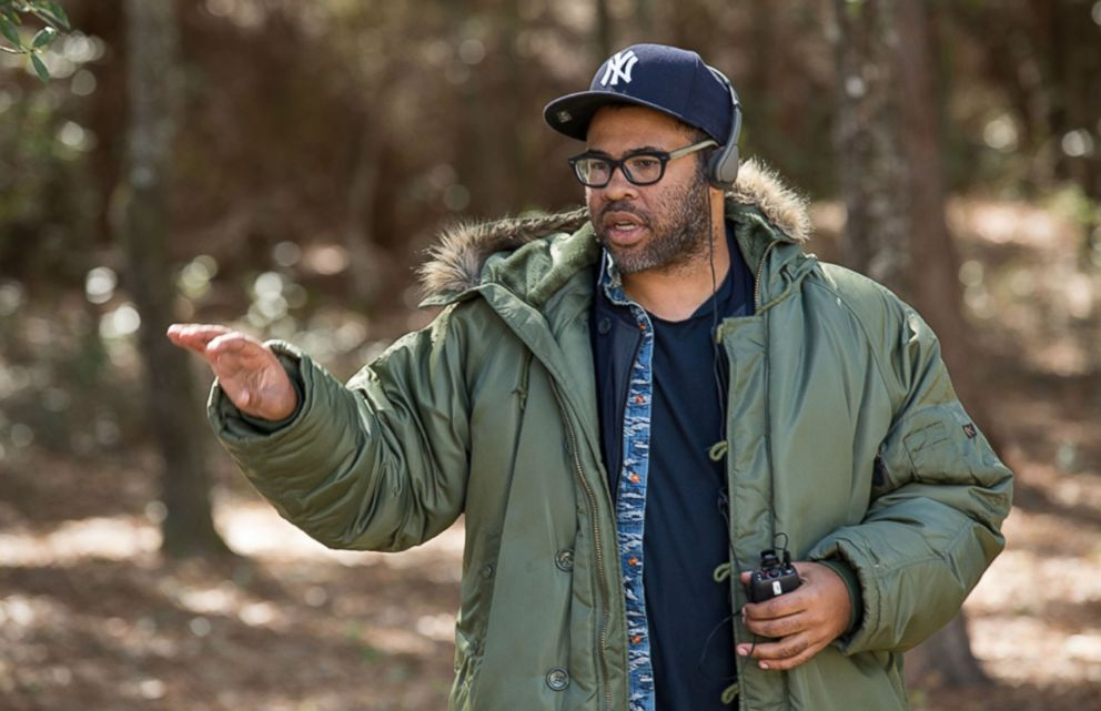 PHOTO: Jordan Peele during the filming of Get Out.