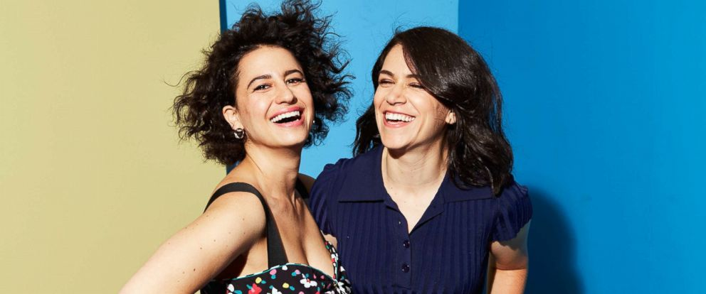 """PHOTO: Ilana Glazer and Abbi Jacobson of """"Broad City"""" pose for a portrait during the 2017 Summer Television Critics Association Press Tour at The Beverly Hilton Hotel, on July 25, 2017, in Beverly Hills, Calif."""