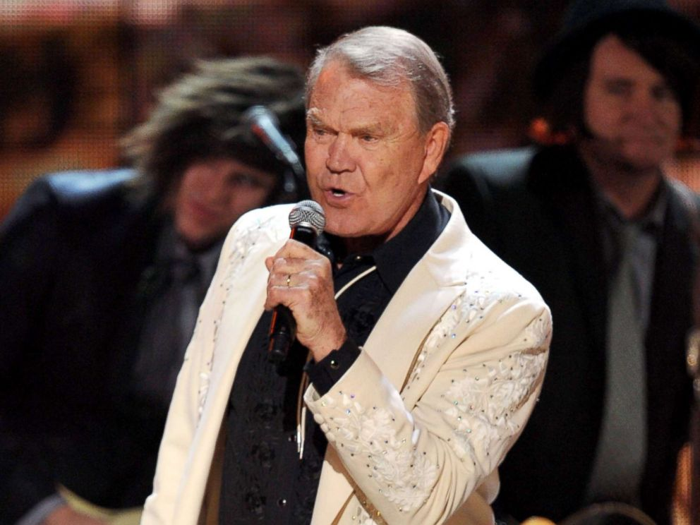 PHOTO: Glen Campbell performs onstage at the 54th Annual Grammy Awards held at Staples Center, Feb. 12, 2012, in Los Angeles.