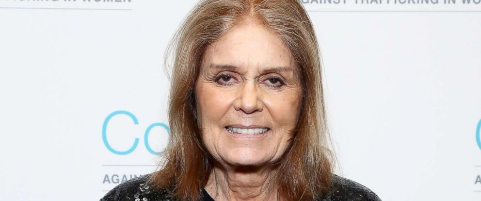 PHOTO: Gloria Steinem attends the Coalition Against Trafficking In Womens 2017 gala at Tribeca Rooftop, Oct. 3, 2017, in New York City.
