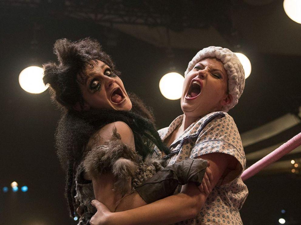 PHOTO: Rebekka Johnson and Gayle Rankin in GLOW.