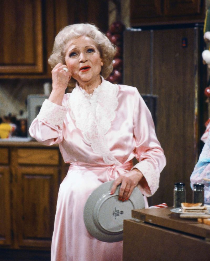 PHOTO: Betty White stars as Rose Nylund in the hit sitcom, The Golden Girls.