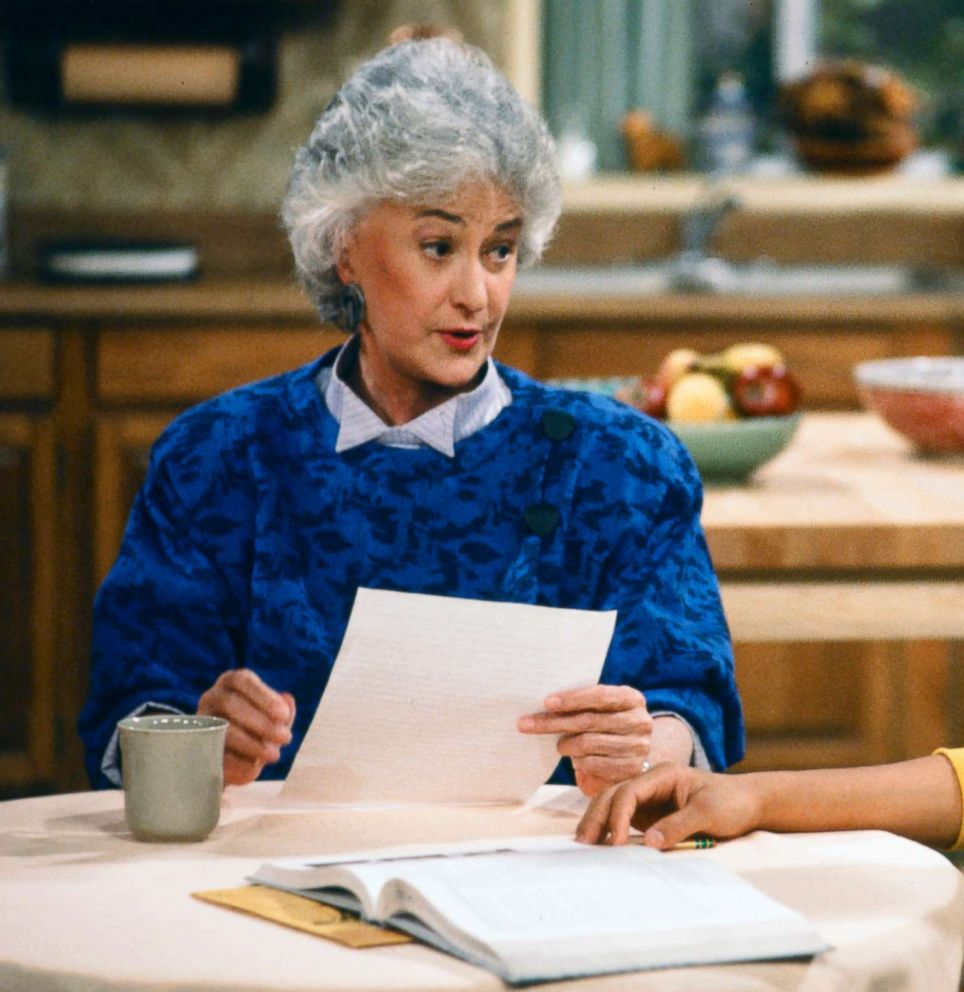 PHOTO: Bea Arthur played Dorothy Zbornak in The Golden Girls from 1985-1992.