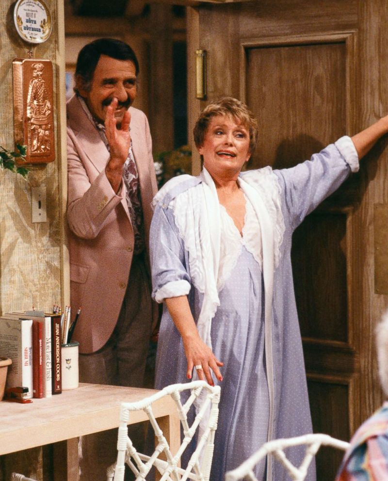 PHOTO: Rue McClanahan stars as Blanche Devereaux on The Golden Girls. McLanahan got to keep all of Blanches wardrobe in the show.