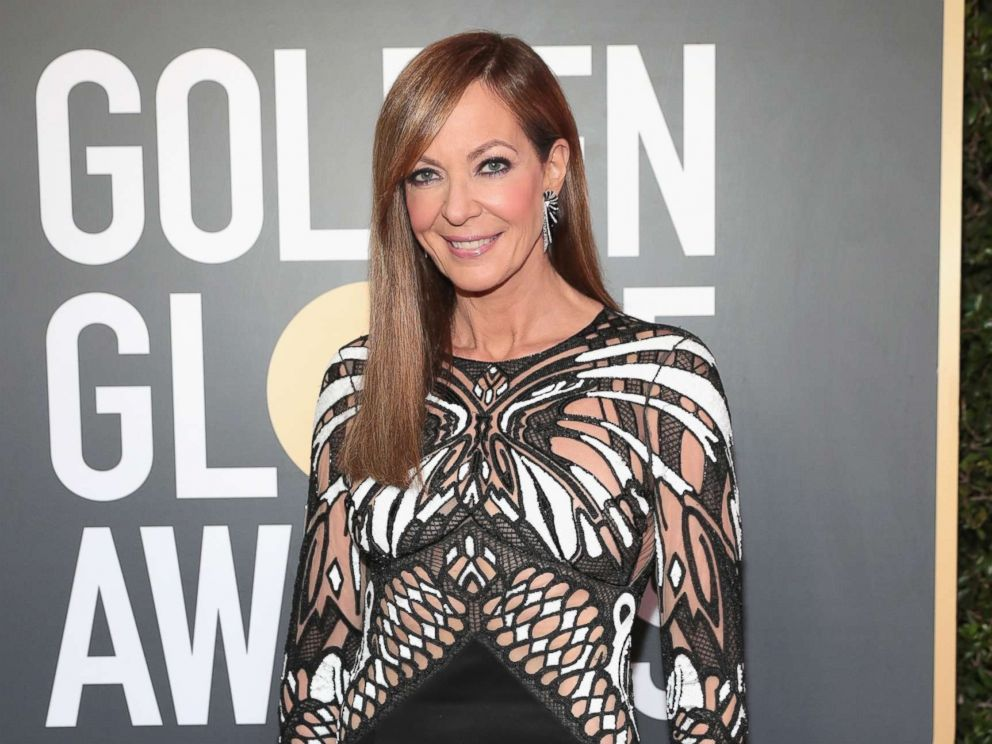 PHOTO: Allison Janney arrives at the 75th Annual Golden Globe Awards held at the Beverly Hilton Hotel, Jan. 7, 2018, in Beverly Hills, Calif.