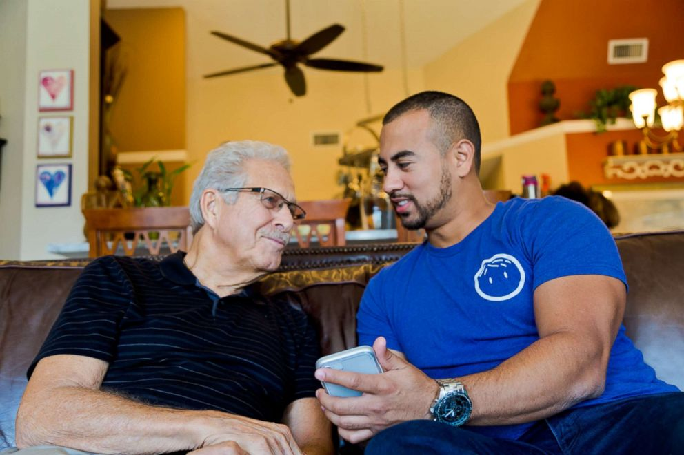 PHOTO: The company, PAPA offers grandkids on-demand, and pairs college students to senior citizens who need help in various ways like transportation, filling prescriptions, help around the house or just if they need a friend.