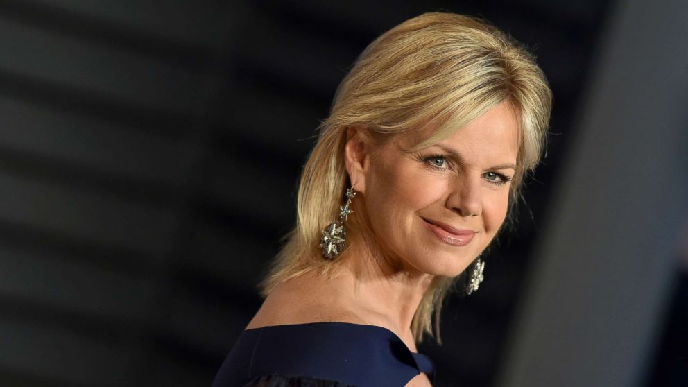 Gretchen Carlson attends the 2018 Vanity Fair Oscar Party at Wallis Annenberg Center for the Performing Arts, March 4, 2018, in Beverly Hills, Calif.