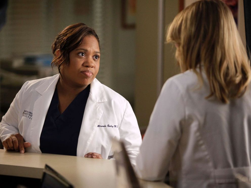 PHOTO: Chandra Wilson appears on Greys Anatomy episode Beautiful Doom from Nov. 8, 2012, on the ABC Television Network.