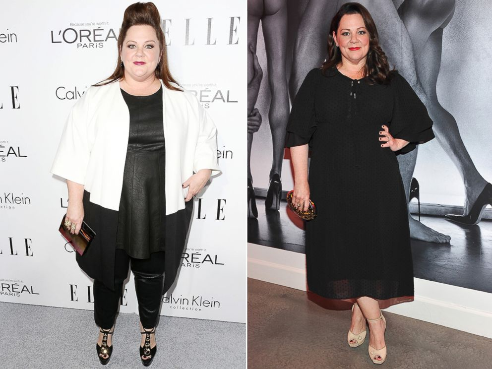 PHOTO: Melissa McCarthy attends ELLEs 20th Annual Women in Hollywood Celebration on Oct. 21, 2013 in Beverly Hills, Calif. Melissa McCarthy attends Brian Atwoods Celebration of PUMPED on Oct. 23, 2015 in Los Angeles.