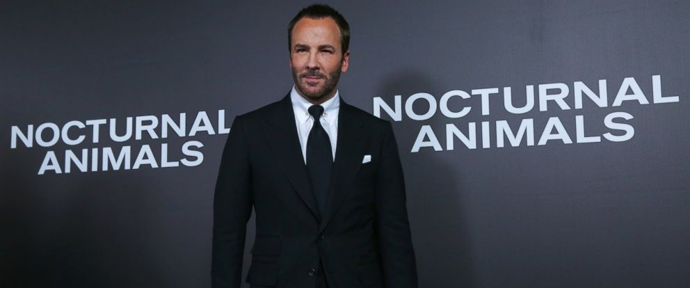 "PHOTO: Tom Ford attends the ""Nocturnal Animals"" New York premiere held at The Paris Theatre, Nov. 17, 2016, in New York."