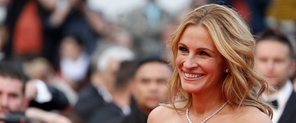 """PHOTO: Julia Roberts attends the screening of """"Money Monster"""" at the annual 69th Cannes Film Festival at Palais des Festivals, May 12, 2016, in Cannes."""