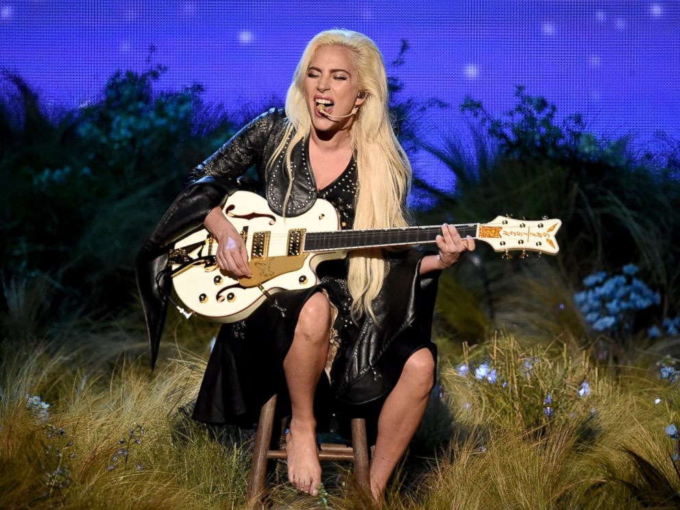 PHOTO: Lady Gaga performs onstage during the 2016 American Music Awards at Microsoft Theater in Los Angeles, Nov. 20, 2016.