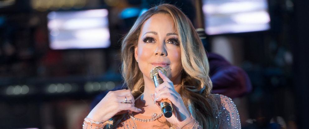 PHOTO: Mariah Carey performs during New Years Eve 2017 in Times Square, Dec. 31, 2016, in New York.