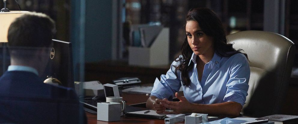"PHOTO: Meghan Markle as Rachel Zane in ""Suits."""
