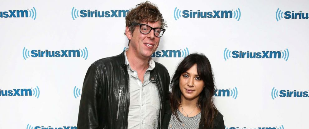 PHOTO: Patrick Carney and Michelle Branch visit SiriusXM Studio in New York City, Oct. 6, 2016.