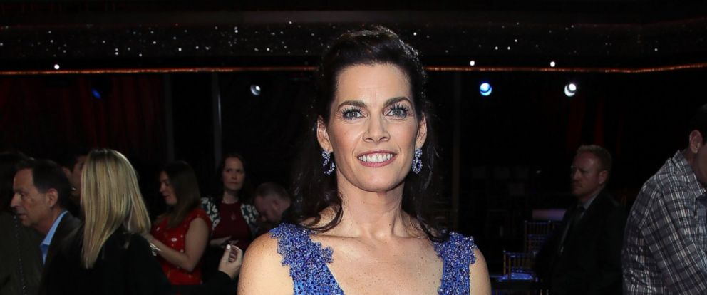 "PHOTO: Nancy Kerrigan attends ""Dancing with the Stars,"" March 20, 2017, in Los Angeles."