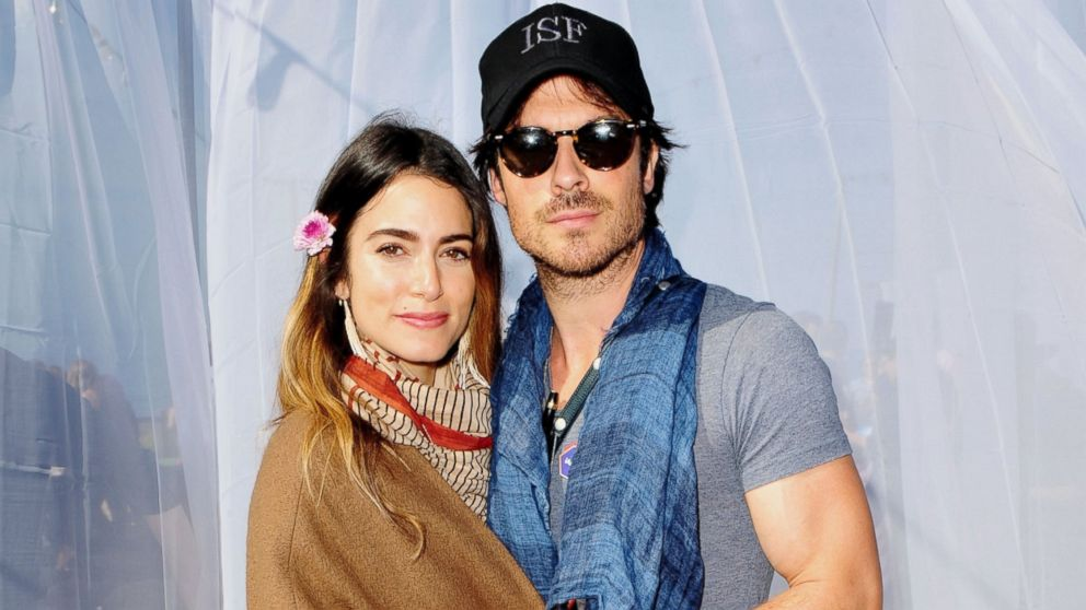 engagement barbecue not  Ian Somerhalder and Nikki Reed are expecting their 1st baby - ABC News