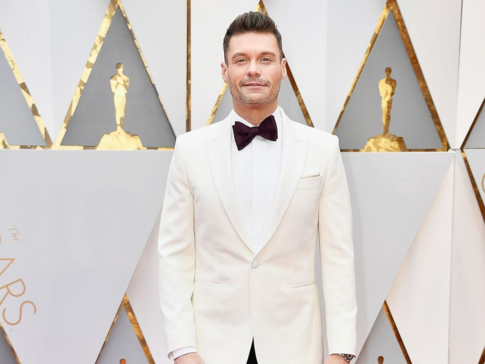 PHOTO: Ryan Seacrest attends the 89th Annual Academy Awards, Feb. 26, 2017, in Hollywood, California.