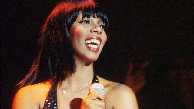 PHOTO: Donna Summer performs on stage in Washington, in this 1978 file photo.