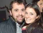 PHOTO: Shiri Appleby and Jon Shook attend the I Heart Ronson Holiday Party at The Bungalow, December 11, 2012, in Santa Monica, Calif.