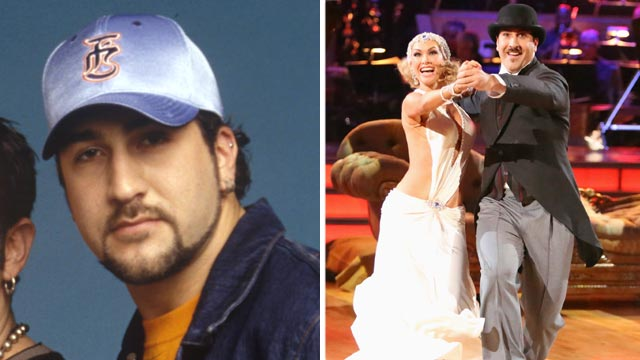 PHOTO: Joey Fatone then and now