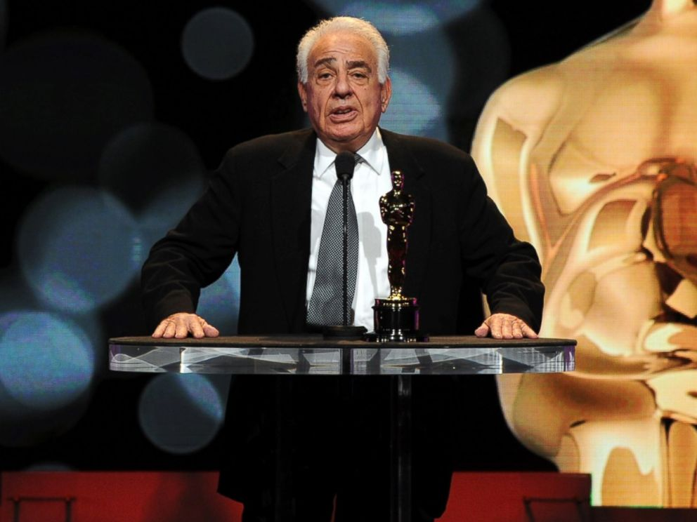 PHOTO: Producer Michael B. Seligman speaks onstage during the 84th Academy Awards announcement held at the Academy of Motion Picture Arts and Sciences Samuel Goldwyn Theater on Jan. 24, 2012 in Los Angeles, Calif.