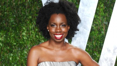 PHOTO: Adepero Oduye arrives at the 2012 Vanity Fair Oscar Party hosted by Graydon Carter at Sunset Tower February 26, 2012 in West Hollywood, Calif.