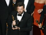 "PHOTO: Ben Affleck accepts the Best Picture award for ""Argo"" onstage during the Oscars held at the Dolby Theatre on February 24, 2013 in Hollywood, California."