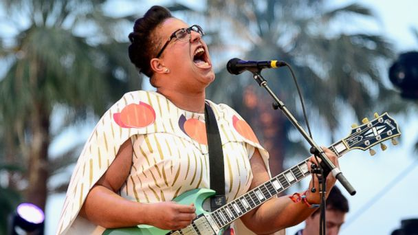 PHOTO: Brittany Howard of Alabama Shakes performs onstage during day 1 of the 2015 Coachella Valley Music & Arts Festival on April 10, 2015 in Indio, Calif.